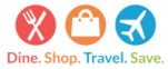 dine-shop-travel-save ICON LOGO